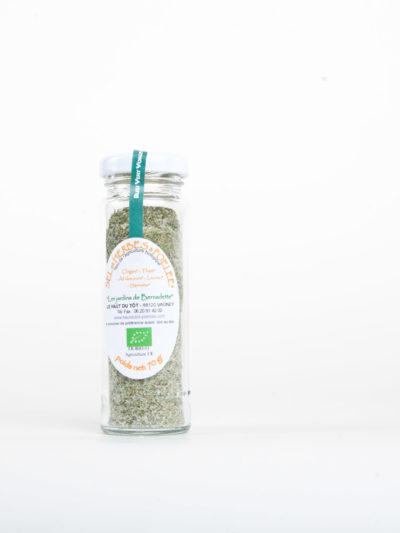 Les Jardins de Bernadette Condiments SEL POELEE 44