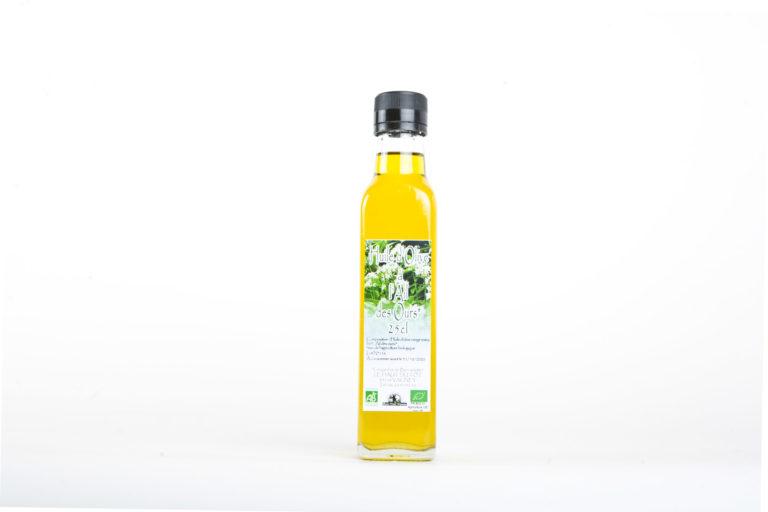 Les Jardins de Bernadette Condiments huile olive ail des ours 34