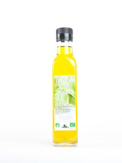 Les Jardins de Bernadette Condiments huile olive basilic 36
