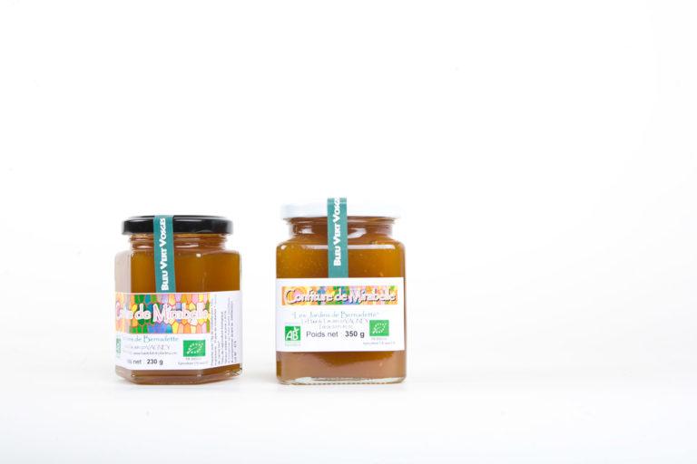 Les Jardins de Bernadette Condiments mirabelle 230 350 53