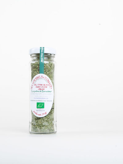 Les Jardins de Bernadette Condiments sel tomate 04
