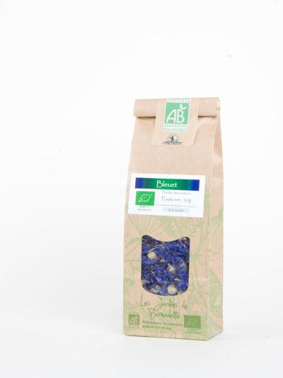 Les Jardins de Bernadette TISANES bleuet 50